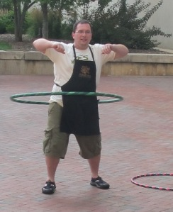 Wayne and the Hula Hoop