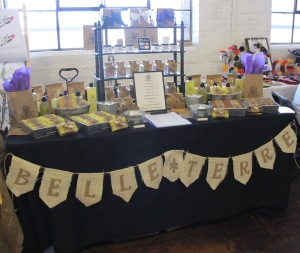 Belle Terre Booth at the Indie Craft Experience